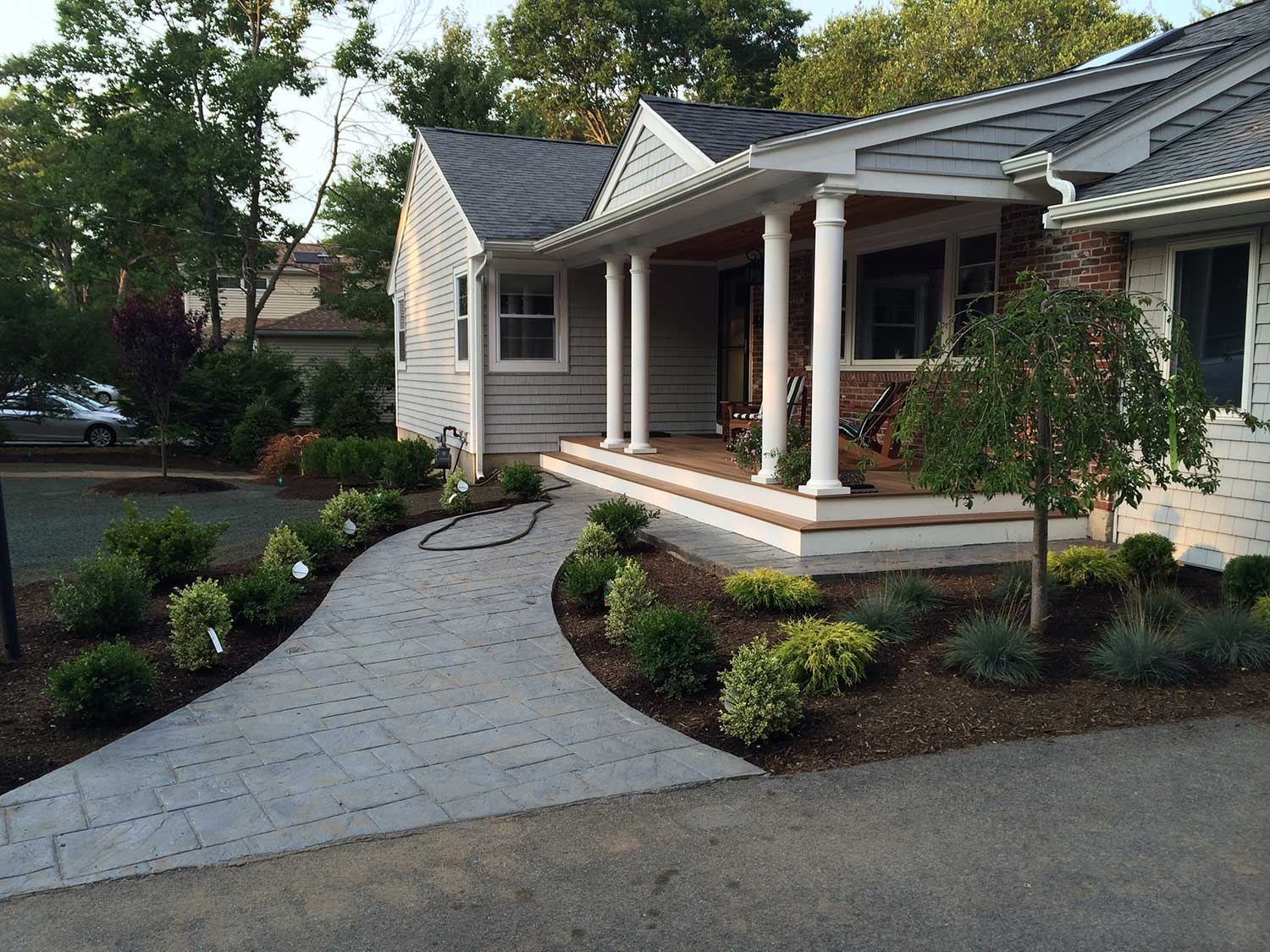 landscape design canton milton stoughton easton 0738