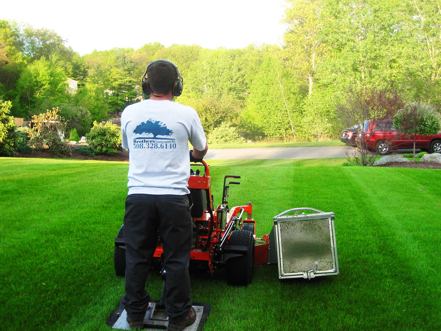 lawn care canton milton stoughton easton 03
