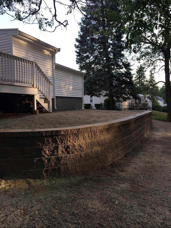 retaining wall canton milton stoughton easton 0617